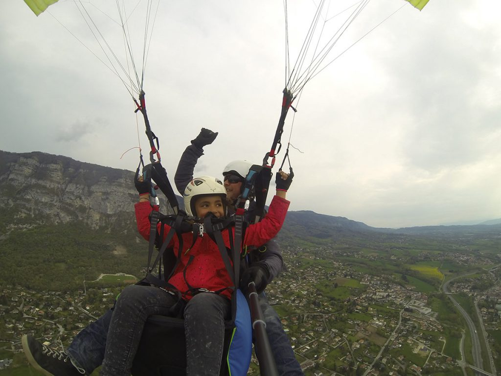 Tandem Flight | Paragliding | Geneva | Switzerland